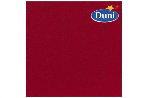 Dunisoft Rulledug Airlaid 1,18 x 25 meter - Bordeaux