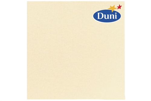Dunilin Servietter<br> buttermilk 40x40 cm.
