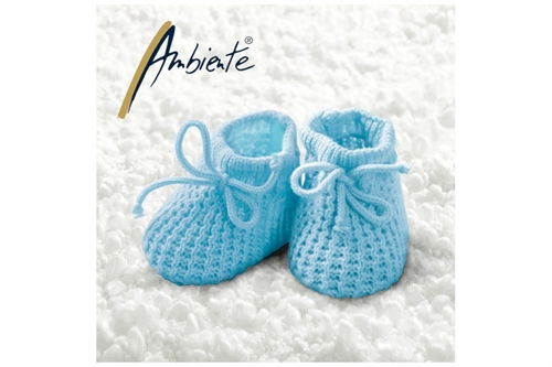 Ambiente Baby Boy Booties 33x33 cm