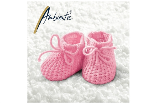 Ambiente Baby Girl Booties 33x33 cm