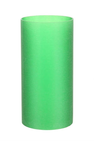 Stella Top Plastic Cylinder Frosted Grøn