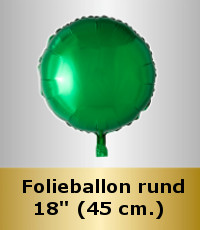 Folieballon Runde