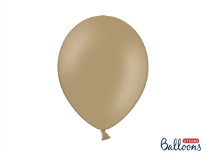 "Latex Ballon Strong Balloon 12"" 30 cm. Cappuccino Beige"