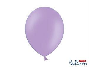 "Latex Ballon Strong Balloon 12"" 30 cm. Lavendel Blå"