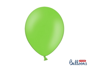 "Latex Ballon Strong Balloon 12"" 30 cm. Lime Grøn"