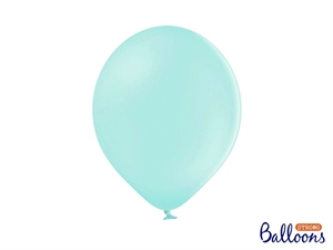"Latex Ballon Strong Balloon 12"" 30 cm. Lys Mint"